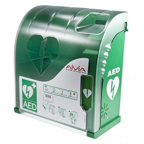 Zaščita in nadzor AED defibrilatorjev