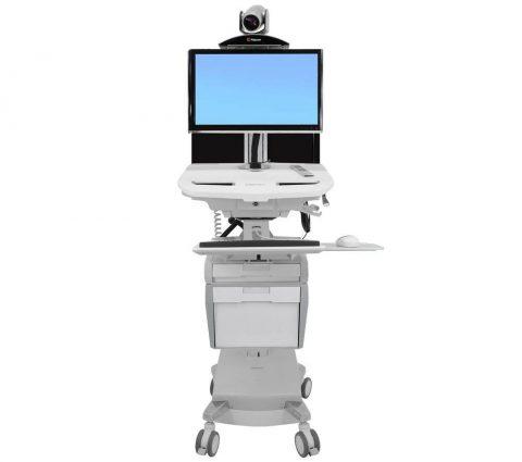 StyleView®-Telemedicine-Cart-Medicinski-računalniški-vozički-1